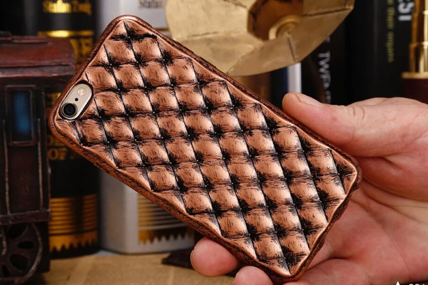 Vintage and luxury soft TPU cover