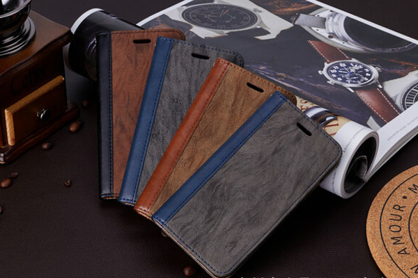 Two kind leather cover case for Apple iphone 6/7