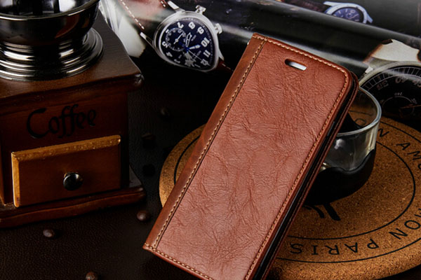 Splicing iphone 6/7 leather case