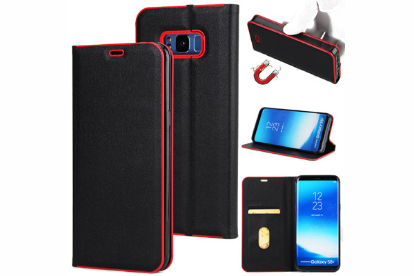 Premium magnet leather cover for Samsung S8 S8 Plus
