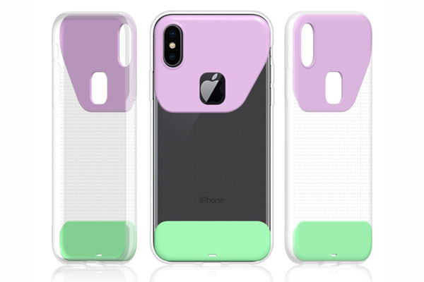 Bikini style TPU soft cover for iPhone X