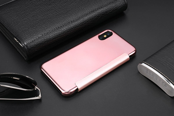 Smar mirror folio cover for iPhone X