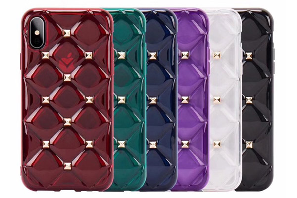 Luxury Rivets TPU Soft Case
