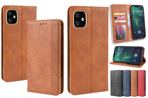 Folio Magnet Leather Cover for New iPhone 5.8'' 6.1'' 6.5''  2019