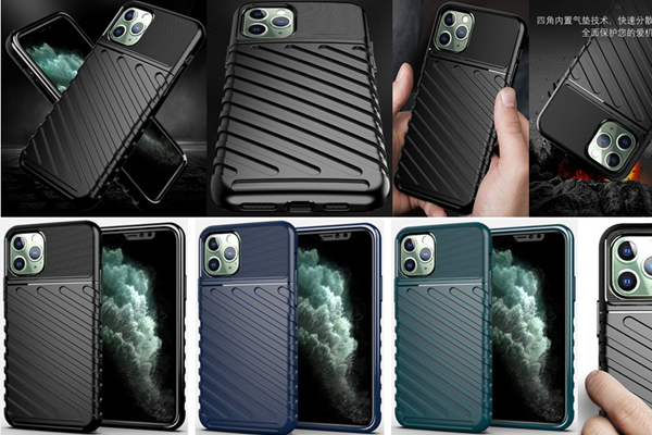 Excellent Hand Grip Feeling Shockproof Rugged TPU Case